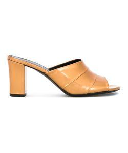 Jil Sander | Open Toe Sandals Goat Skin/Bos