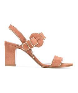 Tabitha Simmons | Contrast Stitch Sandals