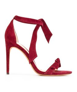 Alexandre Birman | Knotted Stiletto Sandals 36 Suede/Leather
