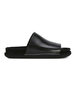 Ann Demeulemeester | Chunky Sole Sandals 40 Leather/Rubber