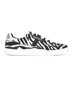 Dolce & Gabbana | Zebra Print Sneakers Size 41 Cotton/Calf