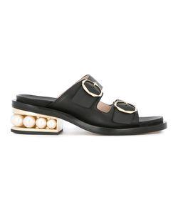 Nicholas Kirkwood | Casati Pearl Two-Strap Sandals Size 39 Nappa