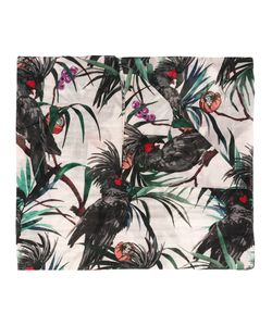 PS PAUL SMITH | Ps By Paul Smith Kakatoo Motive Print Scarf