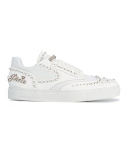 Philipp Plein | Fyn Sneakers 42 Calf Leather/Rubber/Leather/Nylon