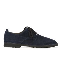 Rocco P. | Lace-Up Oxford Shoes 42 Suede/Rubber/Leather