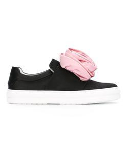 Roger Vivier | Flower Applique Slip On Sneakers Size 35