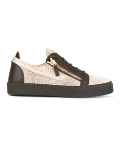 Giuseppe Zanotti Design | Frankie Low-Top Sneakers 40.5 Leather/Rubber