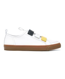 Sunnei | Tri-Colour Strapped Sneakers 39