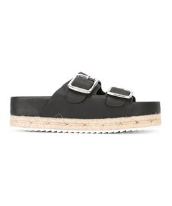 Senso | Karissa Sandals 37 Leather/Rubber/Raffia