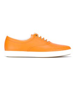 Tomas Maier | Malib Palms Sneakers 37 Calf Leather/Rubber/Leather