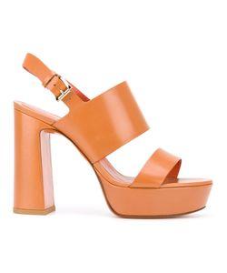 Santoni | Platform Sandals Size 36.5