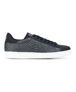 EA7 | Snakeskin Print Sneakers