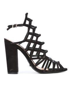 SCHUTZ | Block Heel Caged Sandals
