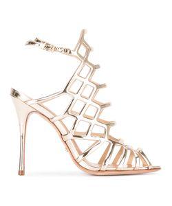 SCHUTZ   Caged Sandals Size 38
