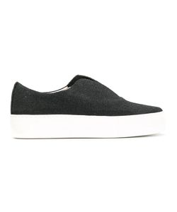 Primury | Contrast Trainers 36 Rubber/Leather