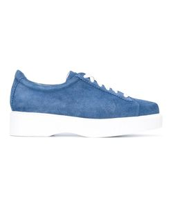Robert Clergerie   Pasket Sneakers 36 Rubber/Calf Suede/Leather