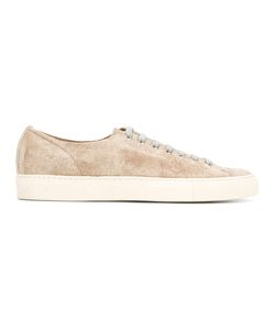 Buttero | Lace-Up Sneakers 43 Suede/Leather/Rubber