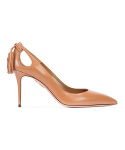Aquazzura | Tassel Cut Out Pumps Size 39