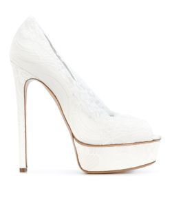 Casadei | Кружевные Туфли На Платформе