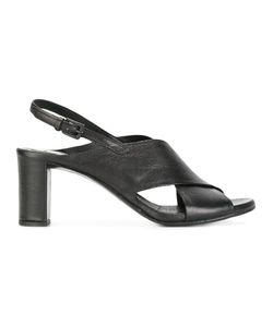 Roberto Del Carlo | Sling-Back Sandals 38.5 Calf Leather/Leather