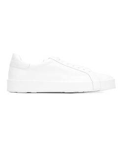 Jil Sander | Lace-Up Sneakers 43 Leather/Rubber