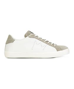 Leather Crown | Star Panel Sneakers 43 Leather/Suede/Polyester