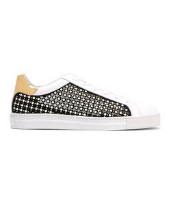 Rene' Caovilla | René Caovilla Studded Laced-Up Sneakers Size 38