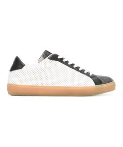 Leather Crown | Moneside Sneakers 42 Canvas/Cotton/Leather/Rubber