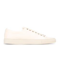 BUTTERO® | Classic Lace-Up Sneakers 42 Calf Leather/Leather/Rubber