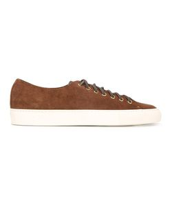 Buttero | Lace-Up Sneakers 42 Calf Suede/Rubber/Leather