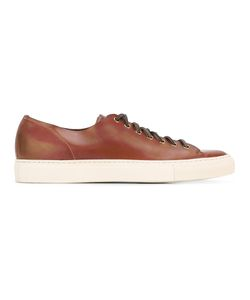 Buttero | Lace-Up Sneakers 41.5 Calf Leather/Rubber/Leather