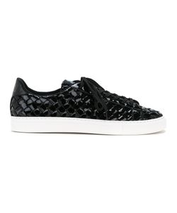 GUILD PRIME | Patent Woven Sneakers