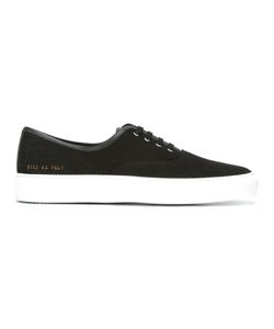 Common Projects | Lace Up Sneakers 44 Cotton/Leather/Rubber/Leather