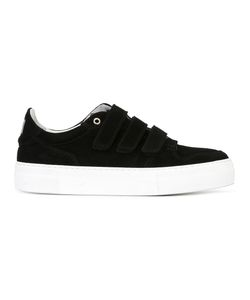 Ami Alexandre Mattiussi | 3 Strap Sneakers 43 Suede/Leather/Rubber