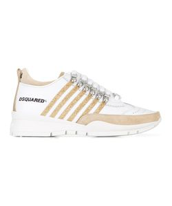 Dsquared2 | 251 Striped Sneakers 36.5 Calf Leather/Leather/Rubber