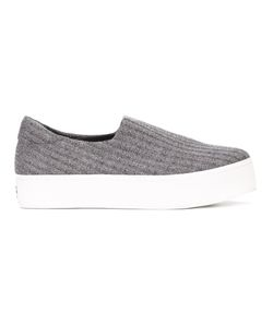 Opening Ceremony | Slip-On Sneakers 39 Leather/Cotton/Rubber