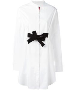 Moncler Gamme Rouge | Bow Tie Fronted Shirt Dress 0