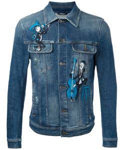 Dolce & Gabbana | Embroidered Denim Jacket
