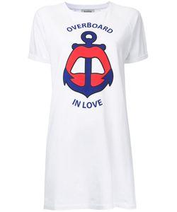 Yazbukey | Overboard In Love T-Shirt Dress Medium Cotton/Spandex/Elastane