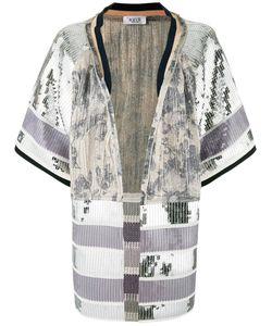 Aviù | Embellished Open Front Jacket