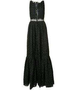 Zac Zac Posen | Zarya Sleeveless Gown 14 Polyester/Cotton/Nylon/Polyester