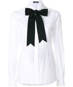Dolce & Gabbana   Рубашка С Завязками