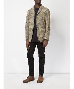 UMA WANG | Scale Print Blazer Large Cotton