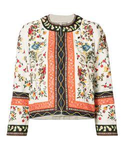Alice + Olivia   Tapestry Print Jacket M