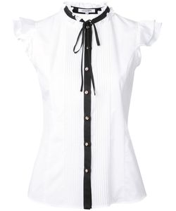GUILD PRIME | Pussy Bow Sleeveless Shirt Size 34