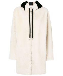 INÈS & MARÉCHAL | Fur Detail Hooded Coat