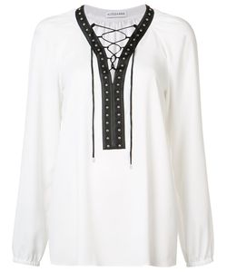 Altuzarra | Lace-Up Blouse Size 40