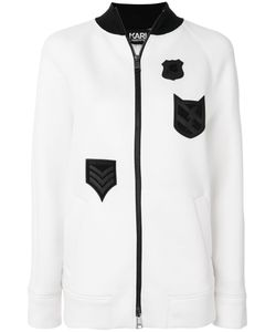 Karl Lagerfeld | Patch Zipped Sweatshirt Women