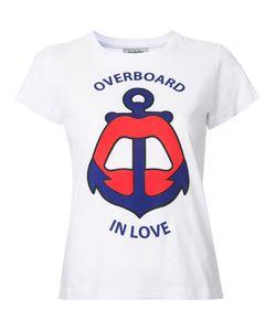 Yazbukey | Overboard In Love T-Shirt Medium Cotton