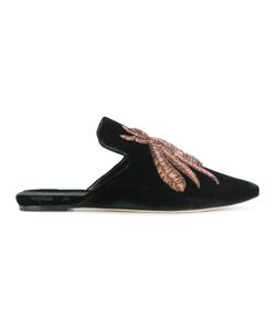 SANAYI 313 | Embroidered Bee Slippers Women